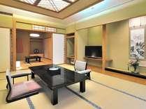 【特別室】12.5畳+6畳+客室露天風呂