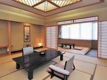■和洋特別室■『花の間』[12.5畳+4.5畳+寝室+檜内風呂]