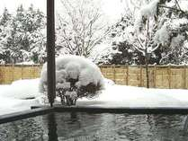 雪見露天風呂もお楽しみいただけます。