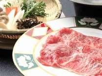 逸品「上州牛」は野菜出汁のしゃぶしゃぶで!