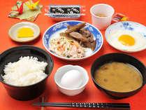 *【朝食】は和朝食をご用意致します。