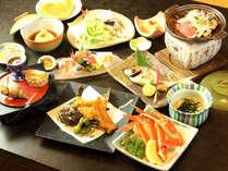 ◆キトキト海の幸&山の幸をバランス良く仕上げたお食事 一例