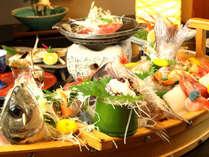 ◆キトキトの舟盛り♪氷見湾は魚介の宝庫!舟盛り写真は4名様分のイメージとなります