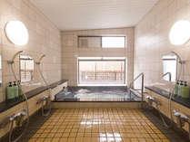 ◇温泉大浴場◇男女別「しょうりんの湯」。源泉かけながしでとてもよく温まります。