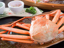 ◇お食事例◇富山といえば紅ずわい♪しっかり目利きした蟹だから、身もぎっしり!