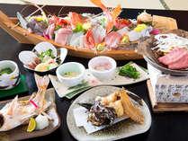 ◇お食事例◇テーブルいっぱいの海の幸!