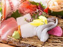 ◇お食事例◇富山湾の海の幸を中心に、季節の魚介をたっぷりとご用意♪