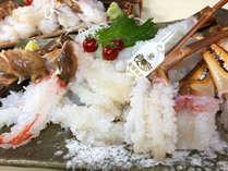 【冬季限定】新湊直送!甘くとろける蟹刺し