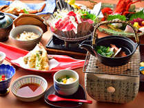 【秋の旬味覚】松茸料理五品と豪華海鮮が並ぶ贅沢会席料理を堪能!※写真はイメージ