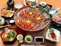 【冬の旬味覚】プリプリ食感と甘み、旨味がたまらない『甘えび』の食べ放題付海鮮会席!※写真はイメージ