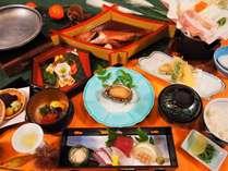 9月~11月の季節の和食膳。秋を感じるお料理です。