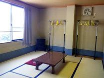 *【お部屋一例】除の行き届いた6畳~20畳までの和室。人数により割り振りさせていただきます。