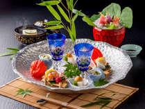 【料理】料亭「遊膳」春夏の創作懐石(月替わりでお献立をご用意します)<イメージ>