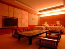 【部屋】離れ「ゆとろぎ亭」デラックスルーム(和洋室)158号室<イメージ>
