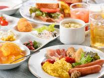 【料理】レストラン「季の蔵」ご朝食例(和洋バイキング)<イメージ>