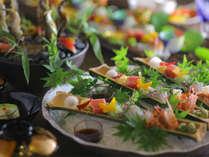 ◆技能グランプリ(日本料理)の銅賞に選ばれた部谷総料理長による越前の山の幸、海の幸をご堪能ください♪