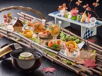 【料理】料亭「遊膳」秋冬の創作懐石(月替わりでお献立をご用意します)<イメージ>