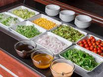 【料理】レストラン「季の蔵」お楽しみビュッフェ(季節のサラダ)<イメージ>