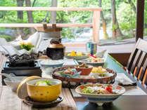 【料理】別邸「個止吹気亭」朝食(お部屋食)<イメージ>