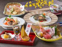 【料理】レストラン「季の蔵」春夏の基本会席(2018年4月から2018年9月までの献立例)<イメージ>