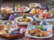 【料理】レストラン「季の蔵」春夏の特選会席(2018年4月から2018年9月までの献立例)<イメージ>