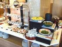 朝食会場 和食メニュー(一例)
