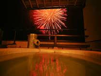 【7/22~8/22城崎温泉夏物語・夢花火】当館の貸切風呂からもご覧いただけます♪