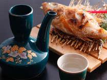 【高級白身魚「のどぐろ」の塩焼き(一例)】焼き立てをご用意致します!