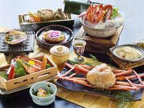 """【紅蟹づくし会席◇紅がさね-Benigasane-】甲羅焼きに始まり、姿盛り・かに鍋など """"蟹を心ゆくまで♪"""""""