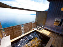 【天空湯房】屋上にある貸切露天風呂は全部で4つ