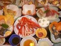 日本海の幸満喫!鮮魚が盛りだくさん!
