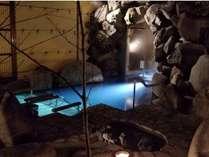 2018年12月リニューアルした洞窟露天風呂