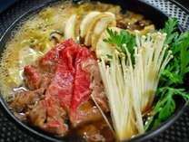 NEW特選グルメ!最高級トロけるA4前沢牛&とれたて野菜で「すき焼き」 笑顔を囲むご夕食