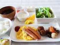 朝食セミバイキング