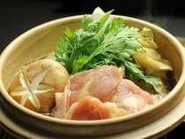 夕食-地鶏のすき焼き