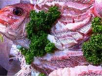 和歌山・加太は新鮮な旬の海の幸がたくさん!(鯛刺身盛一例)