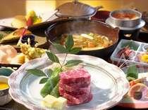 """【味覚☆会場食】お料理をアップグレード!美味しいA-4等級の""""上州牛サーロイン""""を堪能する♪プラン"""