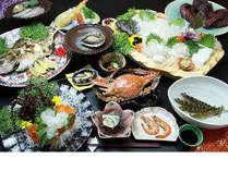 【厳選フルコース】 日間賀島の海の幸を食い尽くす! 「海鮮Cプラン」