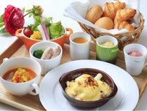 【朝食】信州の食材をふんだんに使ったこだわりの朝食※一例