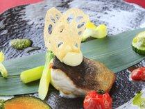 【特選】信州大岩魚のムニエル