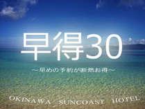 【早期割30】30日前の予約でお得☆【素泊り】