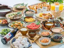 ベッセルイン博多中洲の幸せ朝ごはん。ごはんに博多明太子、お腹に優しいおかゆにも。