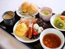 【手つくり朝食付き】自家製豆腐が好評!