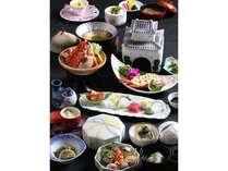 【竜宮会席レストランプラン】観光特急『指宿の玉手箱号』開通に合わせて作った海鮮会席。