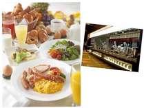 シェフの颯爽とした動きが映えるオープンキッチンで、自慢の多彩なブフェスタイルのご朝食をどうぞ!