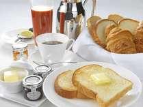 お部屋でゆっくりルームサービス朝食(イメージ)