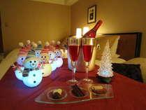 お部屋のクリスマススノーマンデコレーションはこの時期限定です! (イメージ)