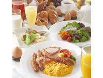 大人にも子供にも人気!カフェレストラン「ル・タン」のブフェ朝食(イメージ)