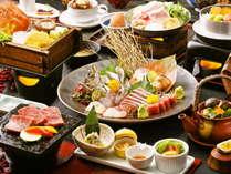 【料理グレードアップ】料理長厳選!お肉と海の幸のいいとこどりプラン