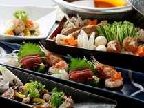 【秋のお料理】桑乃木の創作和食コース(写真はイメージです)。